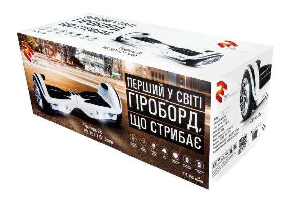 """Гироборд 2E HB 101 7.5"""" Jump White"""