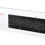 Keyboard 2E KS 106 USB Black
