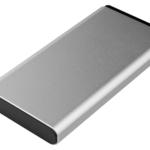 Power Bank 2E 10000 мАг Metal Silver