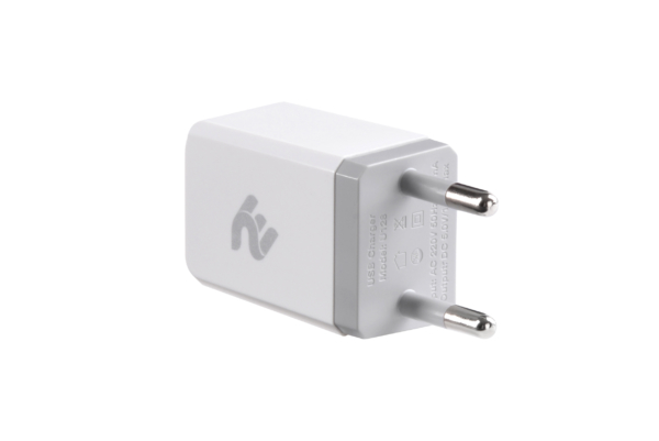 Мережевий ЗП 2E Wall Charger 1USBx1A White