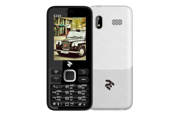 Mobie Phone 2E E240 DualSim Black/White