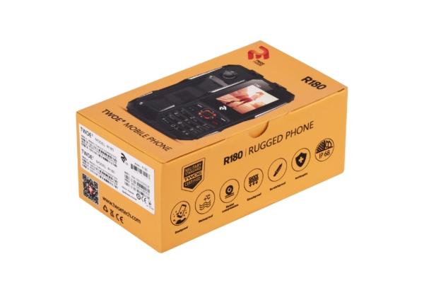 Mobile Phone 2E R180 DualSim Black