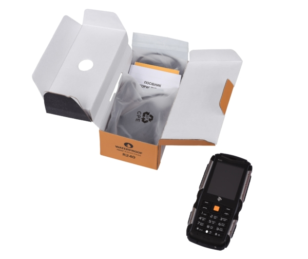 Mobile Phone 2E R240 DualSim Black
