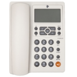 Аналоговий телефон 2E AP-410 White