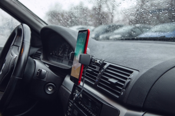 Беспроводное зарядное устройство 2E Car Mount Rotating Wireless Charger