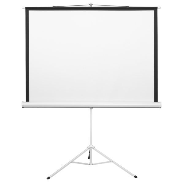 The screen on a tripod 2E, 4:3, 72″, (1.45×1.1 m)