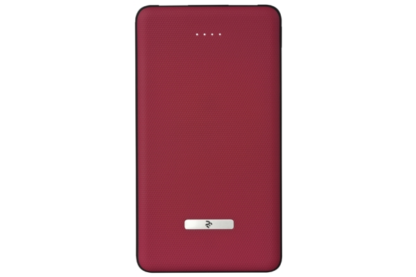 Power Bank 2Е SOTA series Slim 10000 mAh Red