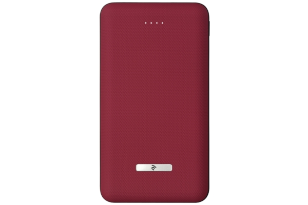 Power Bank 2Е SOTA series Slim 20000 mAh Red
