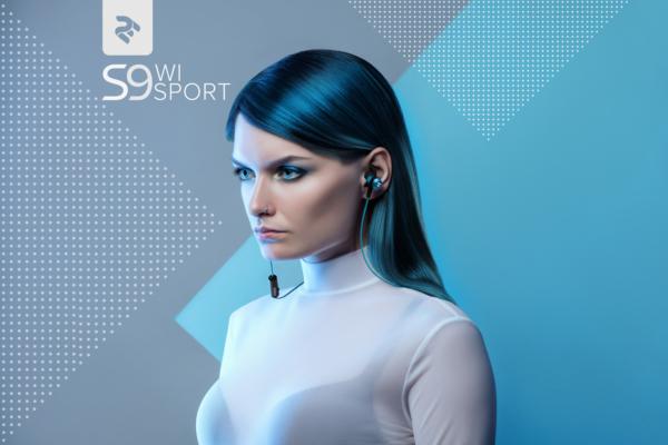 Навушники 2E S9 WiSport, Blue