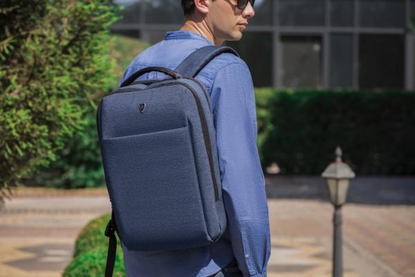 Рюкзак для ноутбука 2E BPN9166NV, Melange 16″ Blue