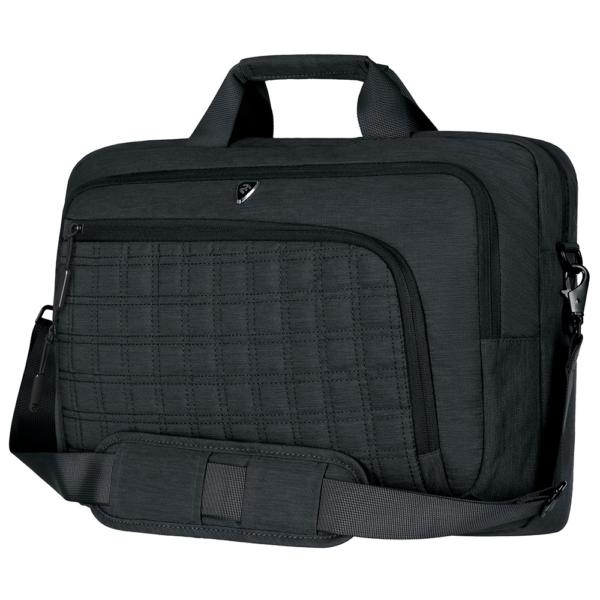 Сумка для ноутбука 2E CBN9198BK, CrossSquares 16″, Black