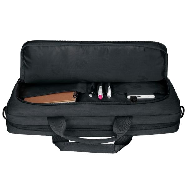 Laptop bag 2E CBN9198BK, CrossSquares 16″, Black