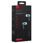 Earphones 2E S2 Metal Skin, Blue
