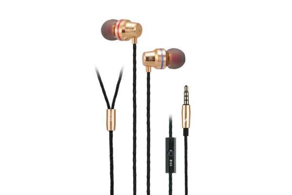 Earphones 2E S5 Galaxy, Gold