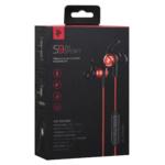 Earphones 2E S9 WiSport, Red