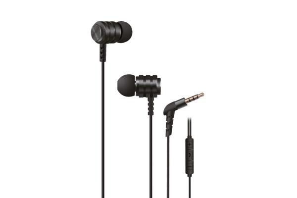 Earphones 2E X1 Extra Bass, Black