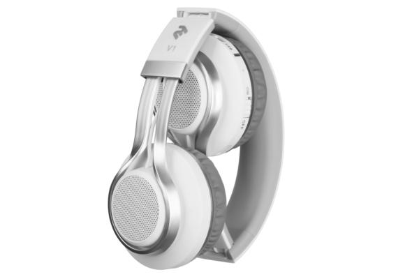 Навушники 2E V1 ComboWay ExtraBass, White