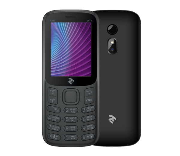 Mobile Phone 2E E240 2019 DualSim Black
