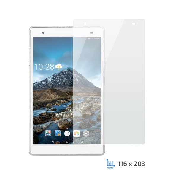 Protective Glass 2Е Lenovo TAB 4 8 Plus, 2.5D Clear