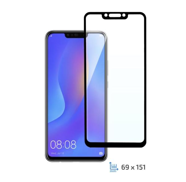 Захисне скло 2E Basic для Huawei P Smart Z/Y9 Prime (2019), 3D FG, Black