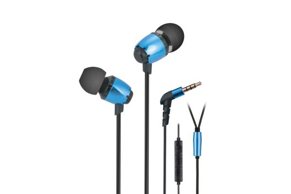 Earphones 2E S6 Pinion, Blue