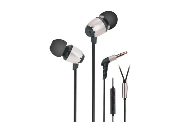 Навушники 2E S6 Pinion, Silver
