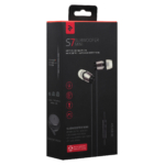 Earphones 2E S7 Subwoofer Mini, Grey