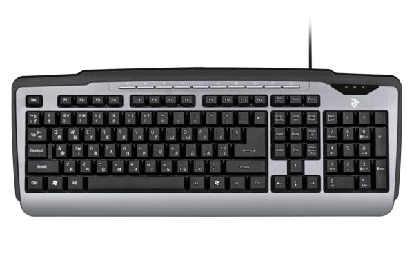 Keyboard 2E KM1010UB Black/Grey