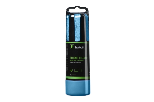 Набір для очищення 2E Blue – Рідина 150 мл та кругла серветка