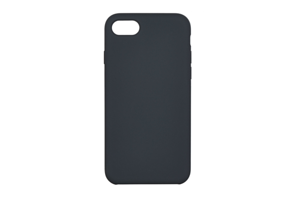 2Е Case for Apple iPhone 7/8, Liquid Silicone, Carbon Grey