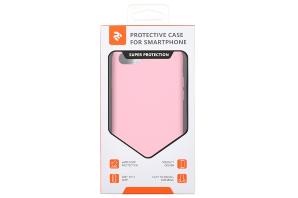 2Е Case for Apple iPhone 7/8, Liquid Silicone, Rose Pink