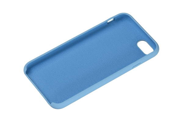 Чехол 2Е для Apple iPhone 7/8, Liquid Silicone, Skyblue