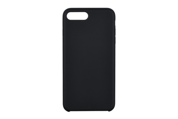 2Е Case for Apple iPhone 7/8 Plus, Liquid Silicone, Black