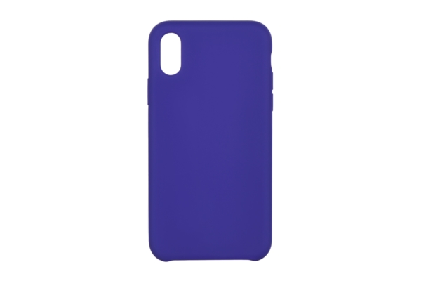 2Е Case for Apple iPhone XR, Liquid Silicone, Deep Purple