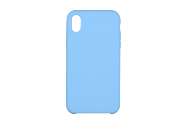 2Е Case for Apple iPhone XR, Liquid Silicone, Skyblue