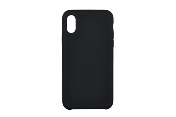 2Е Case for Apple iPhone XS, Liquid Silicone, Black