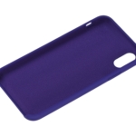 2Е Case for Apple iPhone XS, Liquid Silicone, Deep Purple