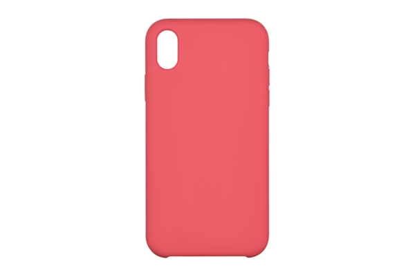 Чехол 2Е для Apple iPhone XS, Liquid Silicone, Rose Red