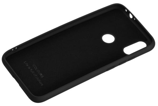 2Е Basic Case for Xiaomi Redmi Note 7, Soft feeling, Black
