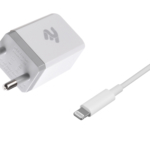 Network Charger USB Wall Charger+Cable Lightning, White