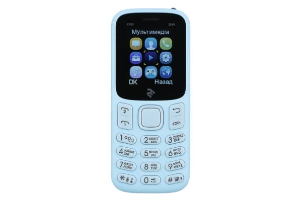 Мобильный телефон 2E E180 2019 DualSim Blue