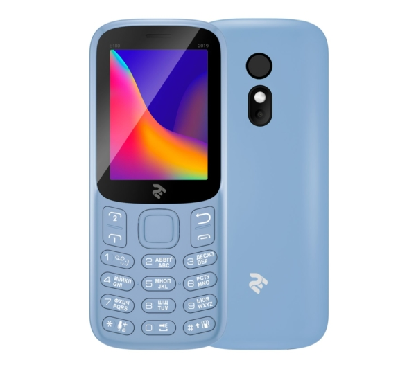 Mobile Phone 2E E180 2019 DualSim Blue