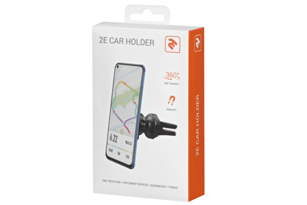Car Holder 2E CH0103, Black