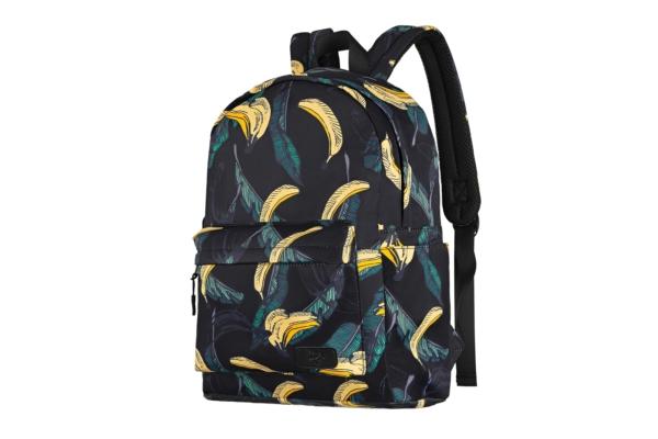 Laptop backpack 2E BPT6114BB, TeensPack Bananas 13″, Black