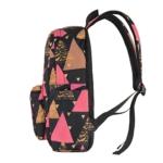 Laptop backpack 2Е BPT6114BK, TeensPack Triangles 13″, Black