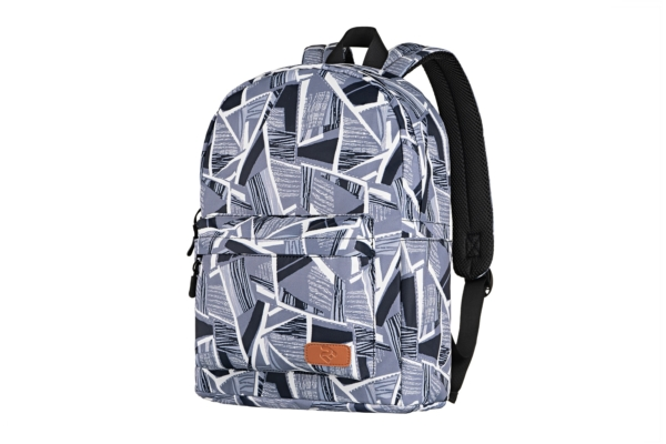 Laptop backpack 2E BPT6114GA, TeensPack Absrtraction 13″, Grey