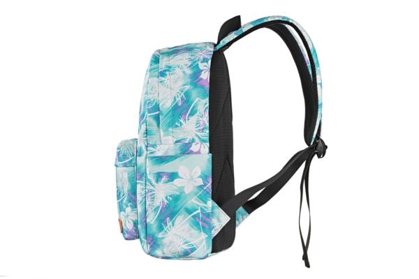 Рюкзак для ноутбука 2E BPT6114GB, TeensPack Wildflowers, Green/Blue