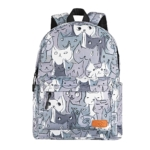 Laptop backpack 2E BPT6114GC, TeensPack Cats, Grey