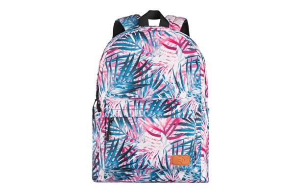 Laptop backpack 2E BPT6114PK, TeensPack Palms, Pink