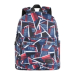 Рюкзак для ноутбука 2E BPT6114RB, TeensPack Absrtraction, Red/Blue
